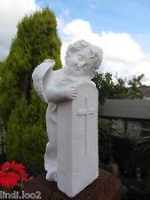 'ETERNAL PEACE'  SWEET CHERUB/ BABY ANGEL MEMORIAL GARDEN ~ GRAVESIDE 12cm
