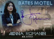 Bates Motel Autograph Card AJR Jenna Romanin as Jenna Purple Ink Person