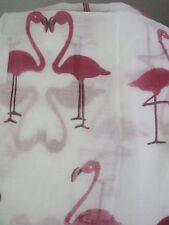 Loop Schlauchschal Baumwolle Flamingos luftig leicht Flamingoprint Vögel rosa