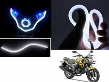 2 x 30CM Flexible Audi Style Neon White Tube DRL LIGHT For All Car.(Universal)