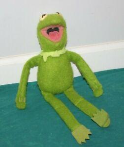 "Fisher Price Kermit the Frog Plush 857 15"" Muppets Sesame Street Stuffed Animal"
