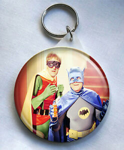Only Fools And Horses 58mm Keyring Batman & Robin