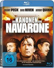 Blu-ray DIE KANONEN VON NAVARONE # Gregory Peck, Anthony Quinn ++NEU