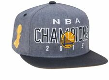 NEW! 2015 NBA Champions GOLDEN STATE WARRIORS Adidas Locker Room Grey HAT Unixex