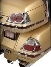 Show Chrome Saddlebag Lens Grilles For Honda GL1800 Gold Wing 06-12