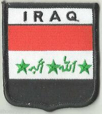 IRAQ CREST FLAG WORLD EMBROIDERED PATCH BADGE