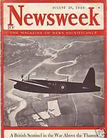 1940 Newsweek August 26-Nazis Cut Jesus from Jews