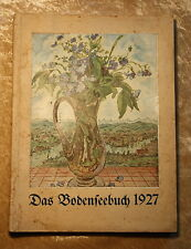 Das Bodenseebuch 1927 kompl. mit allen Holzschnitten und Abbildungen