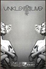 U.N.K.L.E Where Did The Night Fall Discontinued Ltd Ed Poster! The XX Autechre