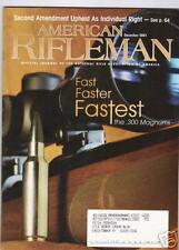 AMERICAN RIFLEMAN...DECEMBER,2001,FASTEST .300 MAGNUMS.