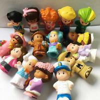PROMOTION - random 10pcs - Fisher Price Little People Figure Boy Girl Doll Gift