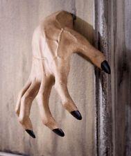 SCARY SPOOKY CREEPY CLAWING HAND WALL HANGER HALLOWEEN INDOOR OUTDOOR DECOR.