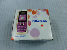 Original Nokia 2626 rosa! nuevo & OVP! sin bloqueo SIM! IMEI iguales! rar!