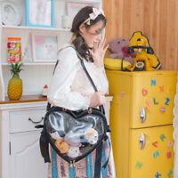Backpack Bags Lolita Japanese Cute Bow Heart-shaped Transparent Itabag Handbag