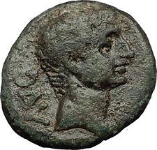 AUGUSTUS 27BC Philippi Macedonia PRIESTS Founding City Oxen Roman Coin i59295