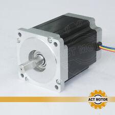 ACT Motor 1PC Nema34 Schrittmotor 34HS1456B 5.6A 116mm 8.4N dual shaft CNC