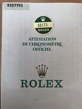 Vintage Original  Rolex 69173- 9237793  Watch -  Used   Certificate Guarantee R