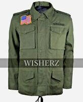 John Rambo Jacket,First Blood US Military M65 Rambo Cotton Jacket,Size XXS-5XL