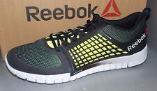 8910cceaed0 MENS REEBOK ZQUICK ELECTRIFY in colors BLACK   GREEN   WHITE SIZE 13