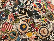 200 Skateboard Stickers US ARMY Vinyl Laptop Luggage Decals Dope Sticker NAVY