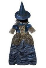 Halloween Witch Outfit Age 3-4 Dressing Up Fancy Dress £14 F&f Tesco Fast Post