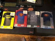 GameStop Superhero T Shirt Set Of 4. Superman Batman Destiny Ps4