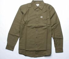 MATIX Micro Hounds Flannel Shirt (M) Army