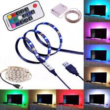 5V 3528 5050 USB LED Strip Waterproof Decor String Light TV Backlight Night lamp