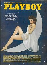 PLAYBOY MAGAZINE-VINTAGE-DECEMBER 1973-GREAT CONDITION-FREE SHIPPING IN CANADA