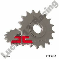 JT 15 tooth front sprocket 520 pitch for Husqvarna TR 650 Srada Terra ABS 13 14