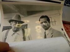 Vtg Cbs Tv Press Photo Jack Nicholson & John Huston In Chinatown Tv Movie