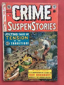 Original EC Crime SuspenStories # 15