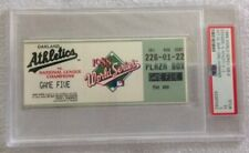 1988 World Series Game 5 PSA Graded Ticket Stub Dodgers Champs Rare