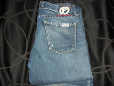 Firetrap envejecido Jeans 27W, 34L