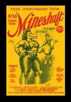 MINESHAFT MAGAZINE #30, SIGNED, 2014, 15TH ANNIVERSARY, CRUMB COVER <RARE> UNDER
