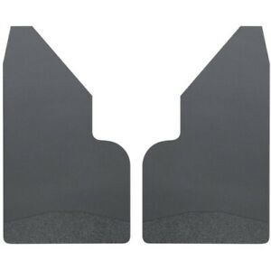"Husky Liner 17153 Universal Mud Flaps 14"" Wide - Black Weight For Ford F150"