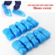 100-2000 Disposable Shoe Cover Dust-Proof Clean Overshoes Boot Cover Waterproof