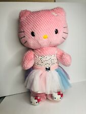 Hello Kitty Build A Bear Pink plush with shoes and clothes!