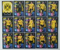 2019/20 Match Attax UEFA Champions Soccer Cards - Borussia Dortmund Team Set