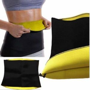Yoga Slim Fit Hot Waist Belt Trimmer Neoprene Weight Loss Burn Fat Body Shaper