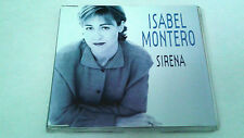 "ISABEL MONTERO ""SIRENA"" CD SINGLE 1 TRACKS"