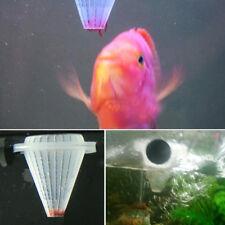 4Pcs White Aquarium Worm Feeder Cone Feeding Live Frozen Brine Shrimp Fish Food