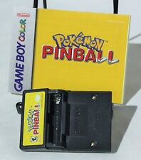 Pokemon Pinball Nintendo Gameboy Color GBC No Battery Cover Instructions Manual