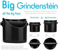 BIG Grindenstein Knock Box, Tamper Mat & Puly Grindz Crystals. By Coffee-A-Roma!