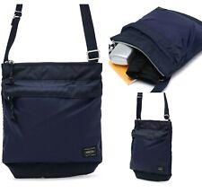 YOSHIDA PORTER FORCE SHOULDER BAG 855-05901 Navy Blue Strap Nylon Casual