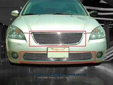 Fits 2002-2004  Nissan Altima Billet Grille Grill Combo