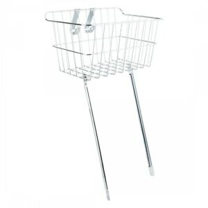 Wald Products #151 Front Basket Silver Steel 14x9x7`