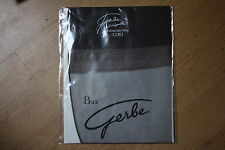 Bas nylon fully fashionned couture stockings  100% vintage gris  T1