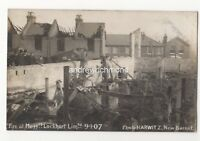 Fire At Messrs Lockhart Limited New Barnet 9 Jan 1907 RP Postcard Harwitz 825b
