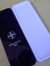 ORIGINAL NATO  MEDAL BOX   - ISAF  -  AFGHANISTAN